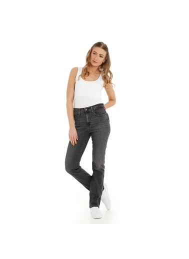 Levi's® Jean Pantolon | 724 - Regular Antrasit